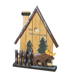 Adventskalender Haus mit Elch