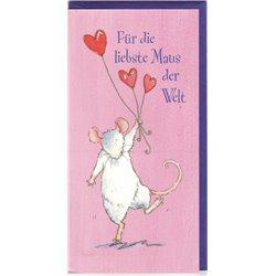 Faltkarte: Für die liebste Maus der Welt!
