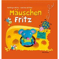 Mäuschen Fritz ( Pop-Up Buch mit Fingerpuppe)